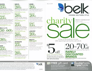 Charity coupons